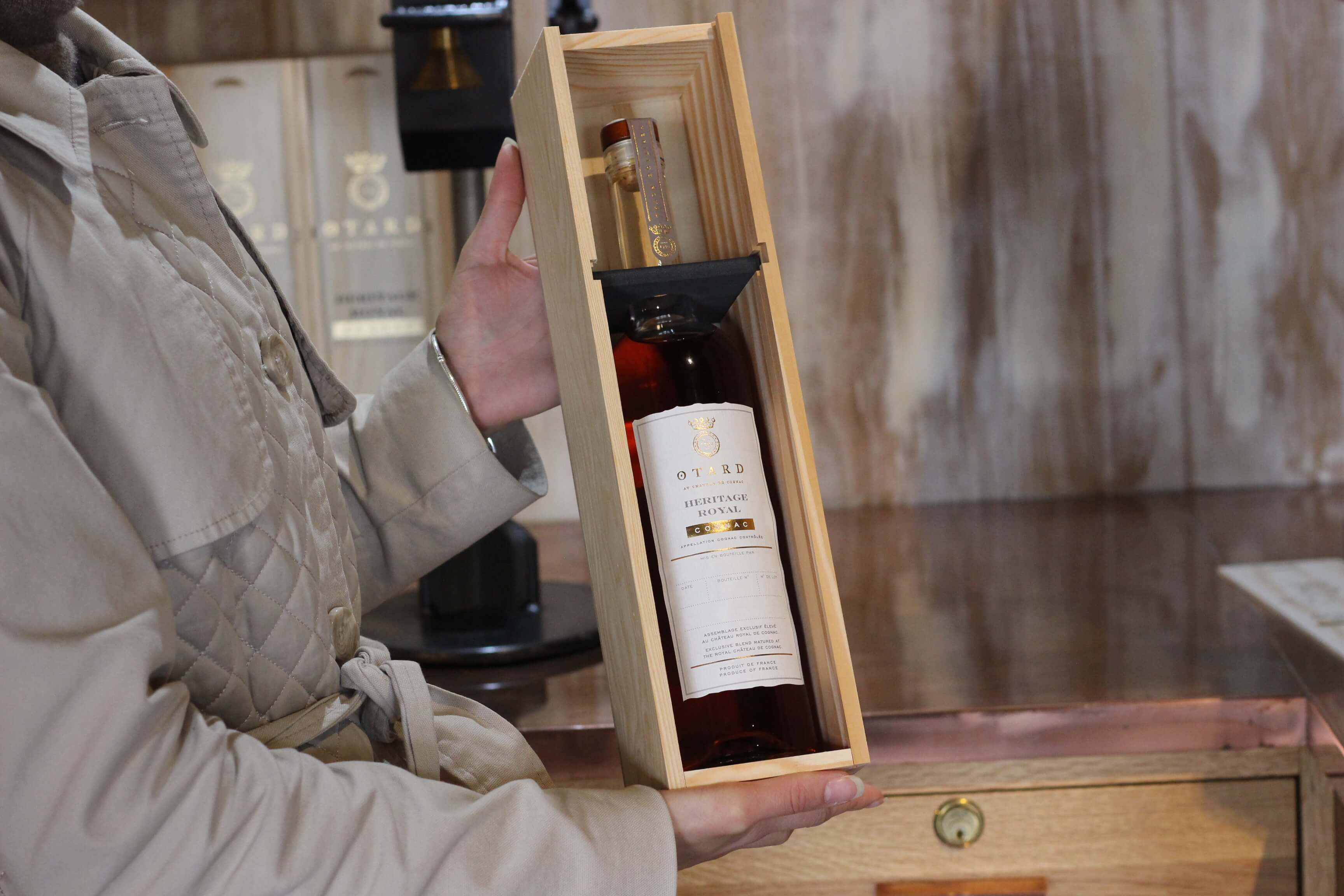 baron otard bottle
